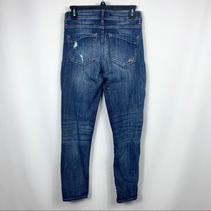 Express Jeans - Express Distressed Ripped Skinny Jeans
